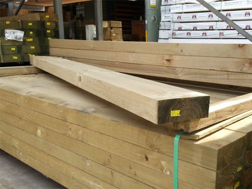 Treated Pine Sleeper  H4  CCA   200mmx75mm