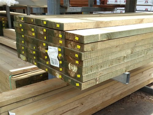 Treated Pine Sleeper  H4 CCA   200mmx50mm