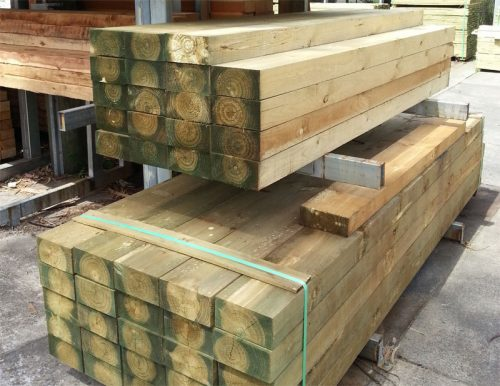 Treated Pine Sleeper  H4 CCA   200mmx100mm