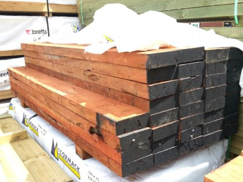 Red Gum Sleeper   200mmx75mm