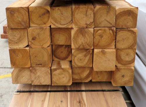 Cypress Rough Sawn F7 100x100