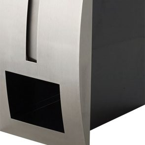 Stainless Steel Modena Mailbox