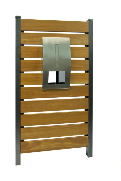 Stainless Steel Modena Panel Mailbox