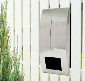 Stainless Steel Capri Mailbox