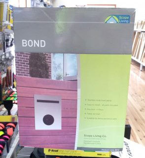 Stainless Steel Bond  Mailbox