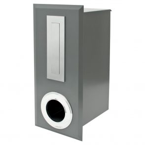 Powder Coated Oxford Mailbox with Chrome Coated  Fittings - 4 available colours