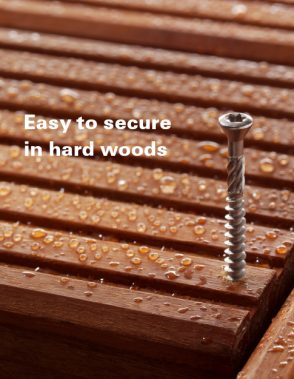 Fischer Stainless Steel Decking Screws - inc free bit(s)