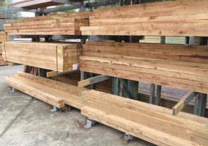 Cypress or Hardwood Fence Post 125mm x 75mm