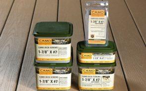 CAMO Hidden Deck Fastening Screws 7g x 48mm and  60mm