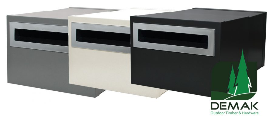 Brick In – Cruise Mailbox with Chrome Fittings – 3 available colours