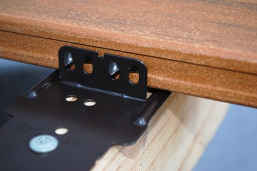 KlevaKlip Hidden Deck Fasteners for Modwood Only Powdercoated Top Fix
