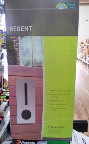 Stainless Steel Regent  Mailbox