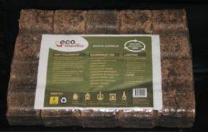 Recycled EcoBriquettes Firewood Enhancer 10kg Bag
