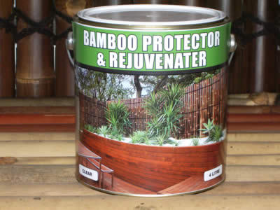 Bamboo Protector & Rejuvenator - Oil / Stain for Bamboo Screens