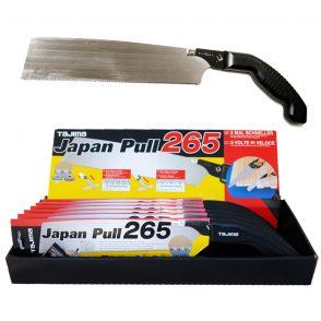 Tajima Japanese Pull Saw 265 - Fine Cut 16tpi