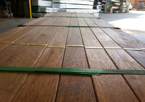 Cheap Merbau Decking / Screening KD 90mmx19mm Dressed All Round - 1st Grade Only