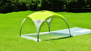 Coleman 3.0m Event Party Shade UV Shelter Gazebo (Lime, Pink & Purple)