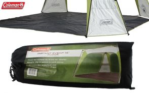 Coleman Event 14 Instant Up Outdoor Shelter Includes Floor & Pouch Free!