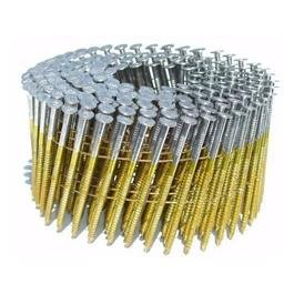 Coil Nails for Paling Fencing 15 degree gal wire Qty 1 coil (300 nails)