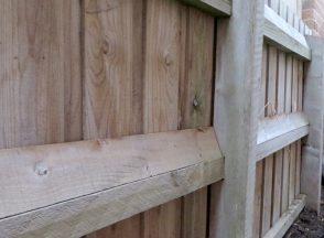 Wedge Restraint / Tilt Batten - Pool Safety Rail for Paling Fence