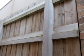 Pool Safety Rail for Paling Fence