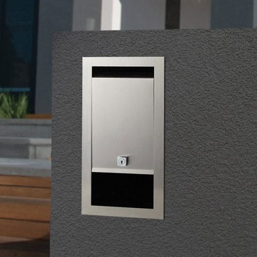 Stainless Steel Boston Front Open Mailbox