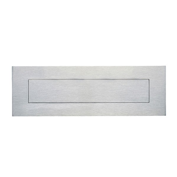 Stainless Steel Letter Plate for Brick or Timber Mailbox 230mm