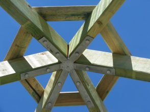 Gazebo Rafter Bracket Gal - Square, Hexagonal, Octagonal, 4, 6 & 8 sided