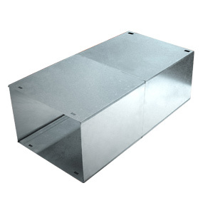 Galvanised 500mm Expandable Sleeve for Milkcan Brick in Mailboxes