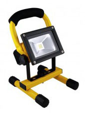 LED Portable Worklight Flood Light 10Watt Rechargeable 900 Lumens Very Bright!
