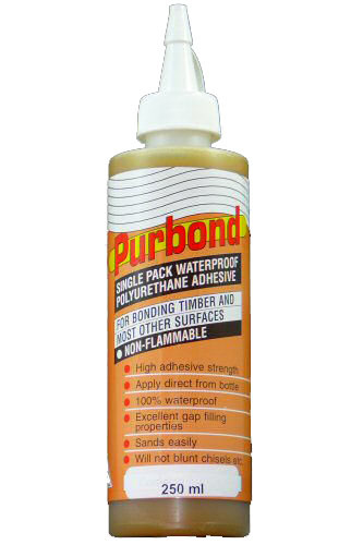 Purbond Waterproof Polyurethane Adhesive (Great Glue!)