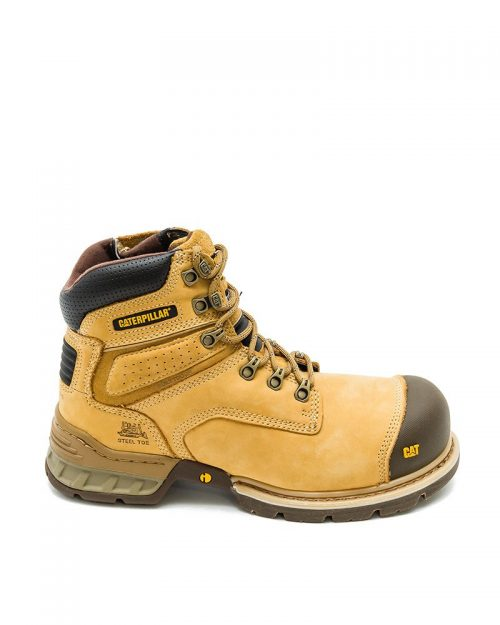 Cat Boots - Brakeman High Zip - Steel Toe