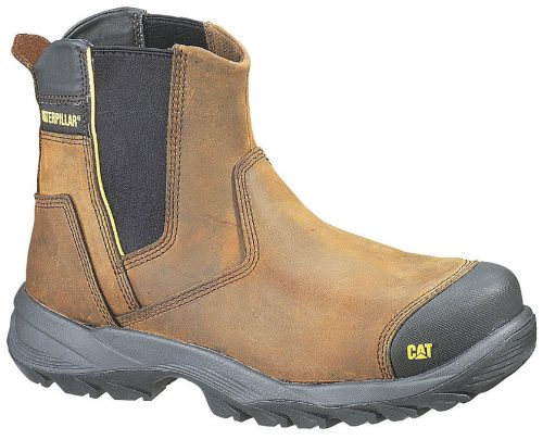 Cat Boots - Propane - Steel Toe - Dark Brown