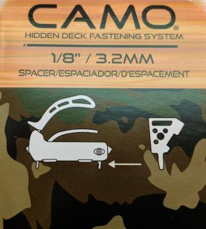Camo Tool Spacer 3.2mm