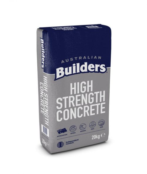 Australian Builders - High strength concrete