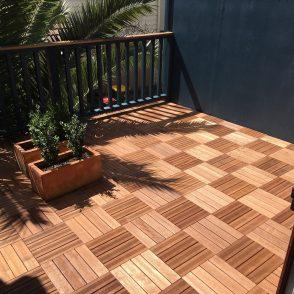 Merbau Decking Tiles - Demak Outdoor Timber & Hardware