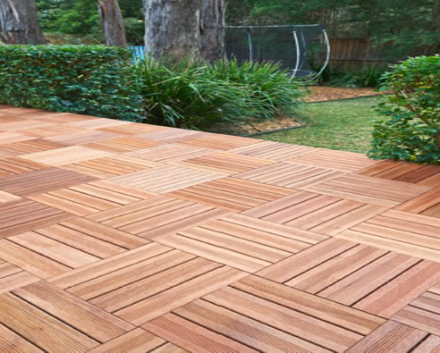 Merbau Decking Tiles - Demak Outdoor Timber & Hardware