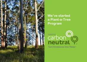Carbon Neutral Plant a Tree program - Demak Outdoor Timber & Hardware