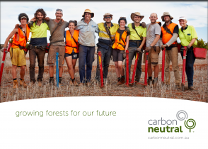 Carbon Neutral - Plant tree program