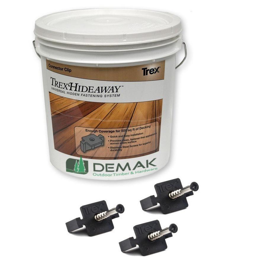 demak trex hideaway fastener system