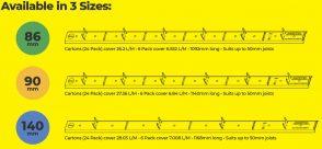 Decktec 3 sizes