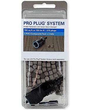 Trex Pro Plug & Screw System for Timber Joints